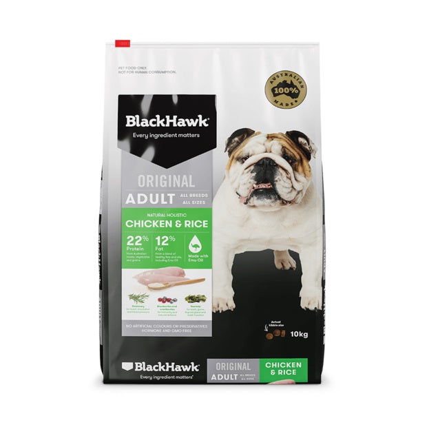BLACK HAWK CHICKEN RICE 10KG