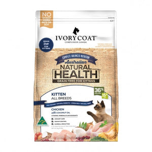 IVORY COAT CAT KITTEN CHIVORY COATKEN COCO OIL 3KG