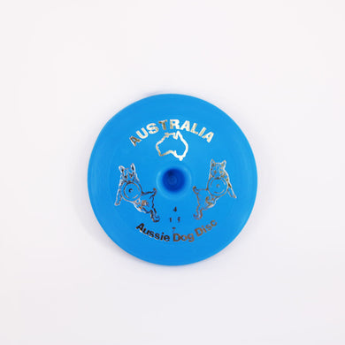 AUSSIE DOG DISC FLOPPY BLUE