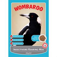 WOMBAROO INSECTIVORE REARING 250G