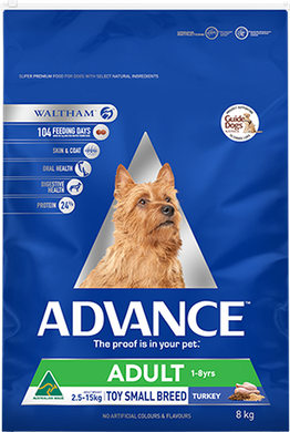 ADVANCE DOG ADULTT TOY TURKEY 8KG
