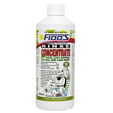 FIDOS RINSE CONCENTRATE 500ML