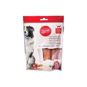 IT'S TREAT TIME DOG CHICKEN JERKY STRIP 250G