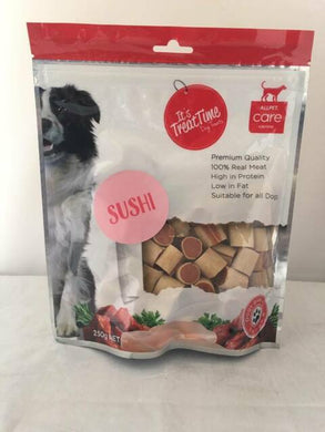 IT'S TREAT TIME CHICKEN POLLOCK SUSHI 250G