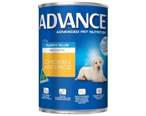 ADVANCE DOG WET PUP CHKN 410G