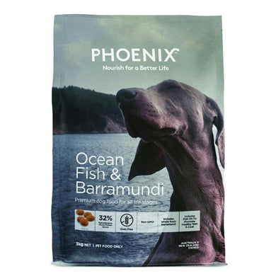 PHOENIX DOG OCEAN FISH & BARRAMUNDI 3KG