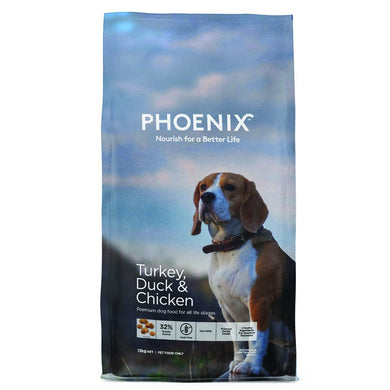 PHOENIX DOG TURKEY, CHICKEN & DUCK 13KG