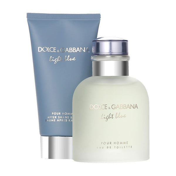 Dolce and Gabbana Light Blue Homme Gift Set 75ml