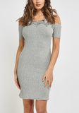 Crotchet Bodycon Dress