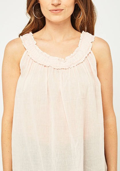 Light Pink Casual Top