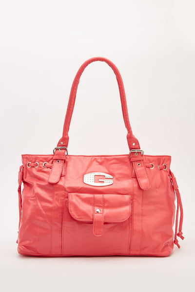 Pink Detail Tote Bag