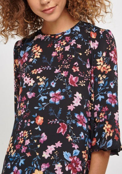 Floral Sheer Blouse