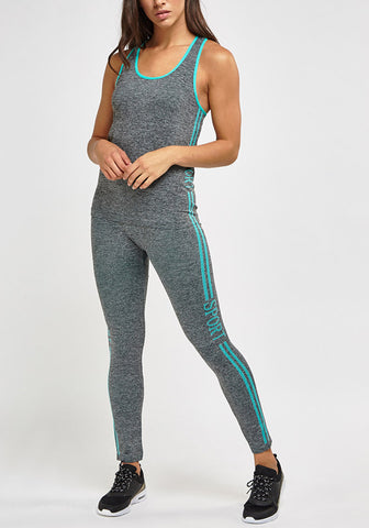 Sports Tank Leggings Set