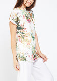 Tropical Floral Printed Top