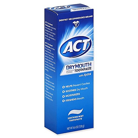 Buy ACT Dry Mouth Relief Toothpaste, Soothing Mint Flavor by Chattem - Mi Paste Store