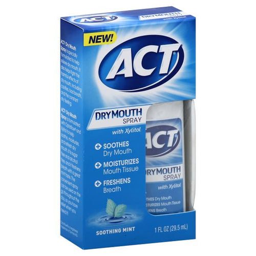 Buy ACT Dry Mouth Spray, Soothing Mint by Procter & Gamble - Mi Paste Store