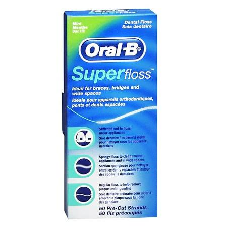 Buy Oral-B Super Floss, 50 Pre-Cut Strands Mint Flavor by Procter & Gamble - Mi Paste Store