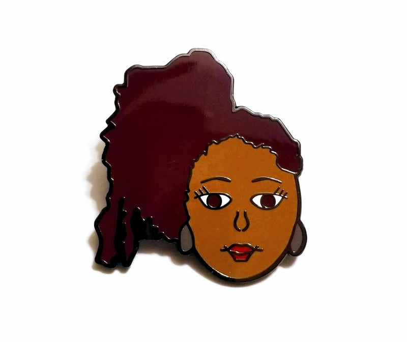 New!  Our Naturally ME 5 © Lapel Pin