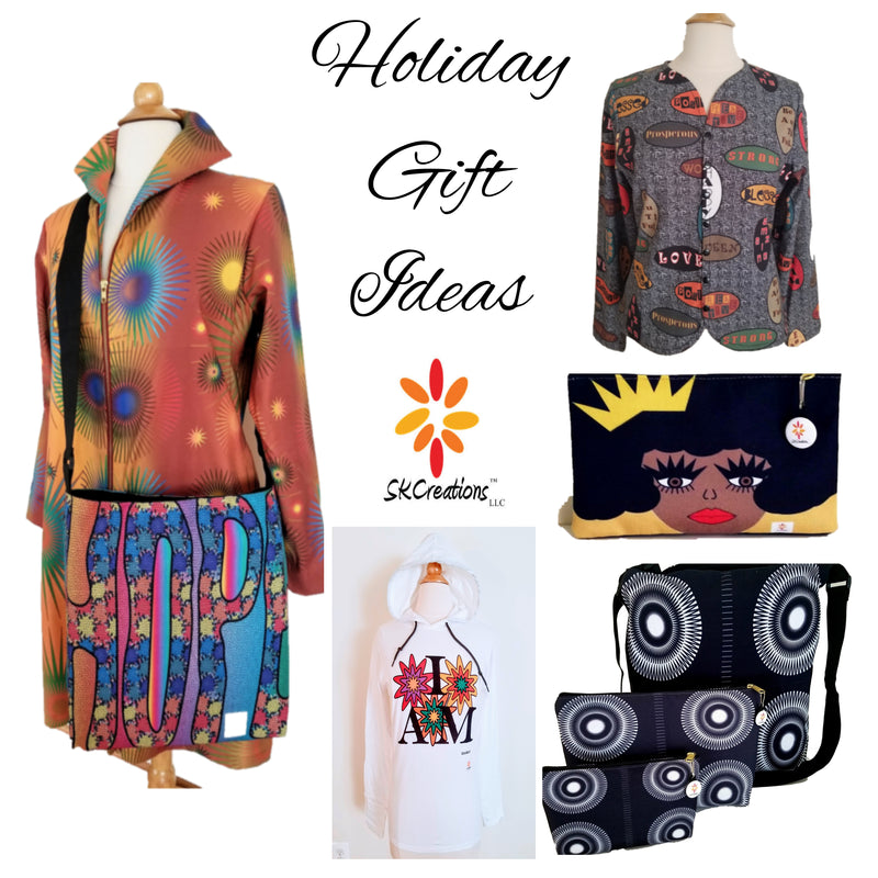 skcreationsllc, holidays, online shopping, holiday gift guide, gift ideas, christmas gifts, black friday, cyber monday, kwanzaa, black owned business, woman owned business, unique gifts