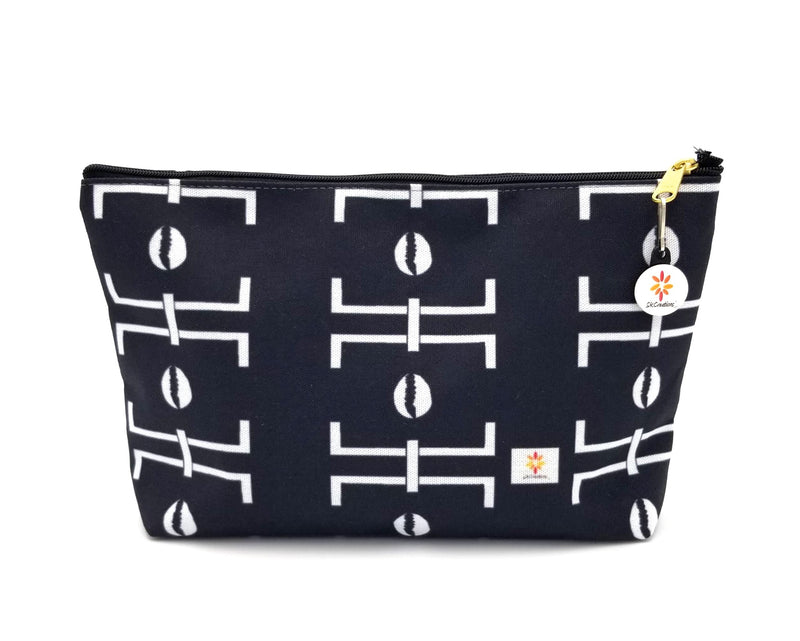 mud cloth pattern accessory pouch the africa collection skcreationsllc