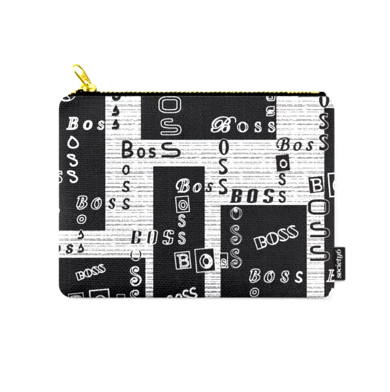 """BOSS"" © Zippered Pouch"