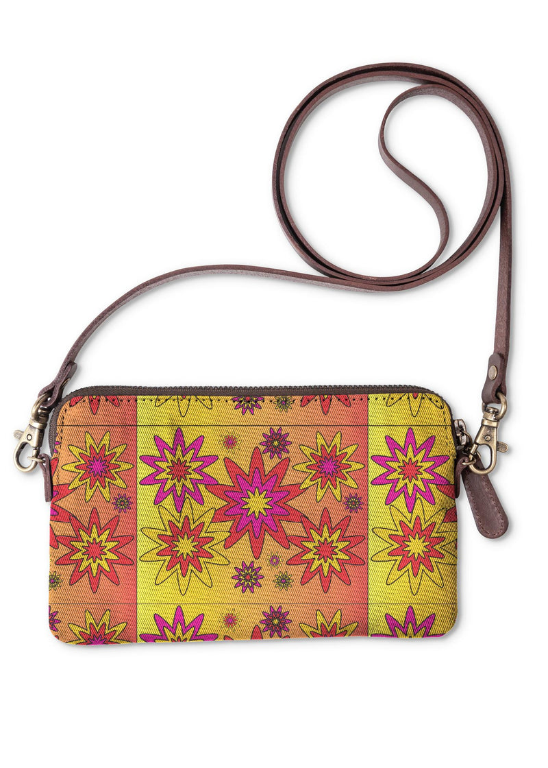 Blooming Happy - Bright © Clutch Bag