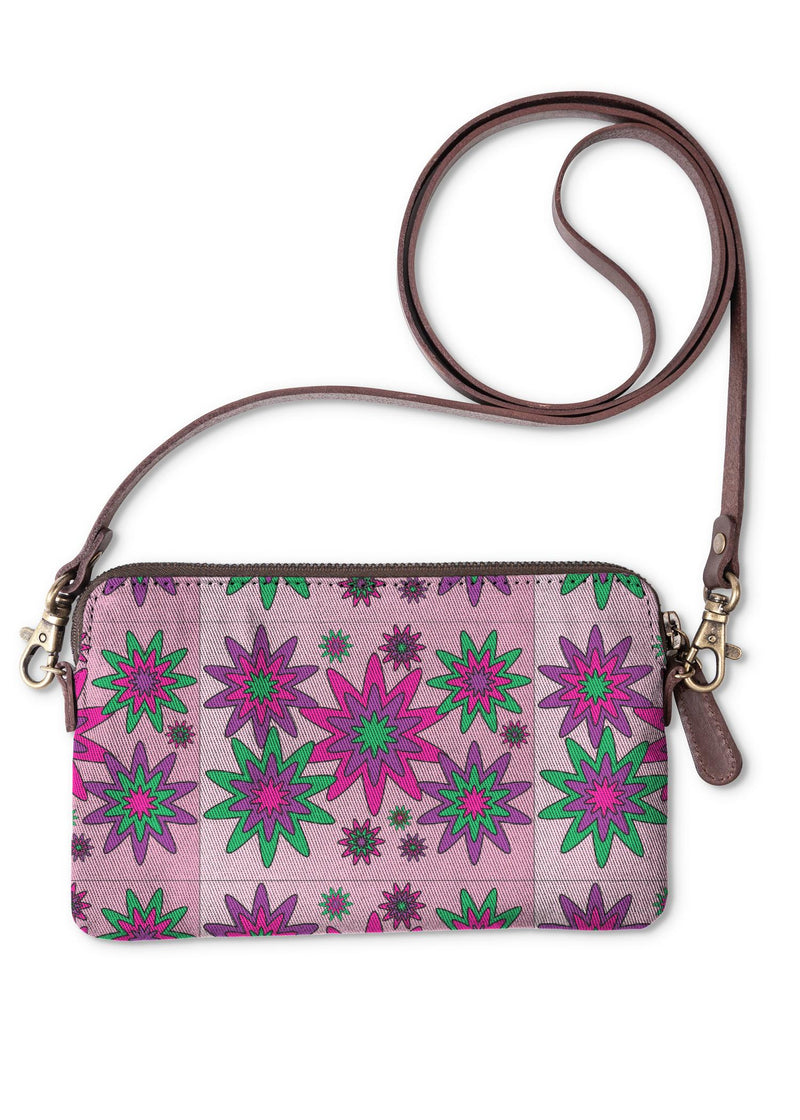 Blooming Happy - Calm © Clutch Bag