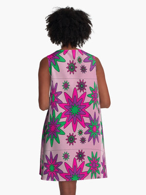 Blooming Happy - Calm © Tunic Dress