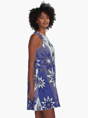 Blooming Happy - Cool © Tunic Dress