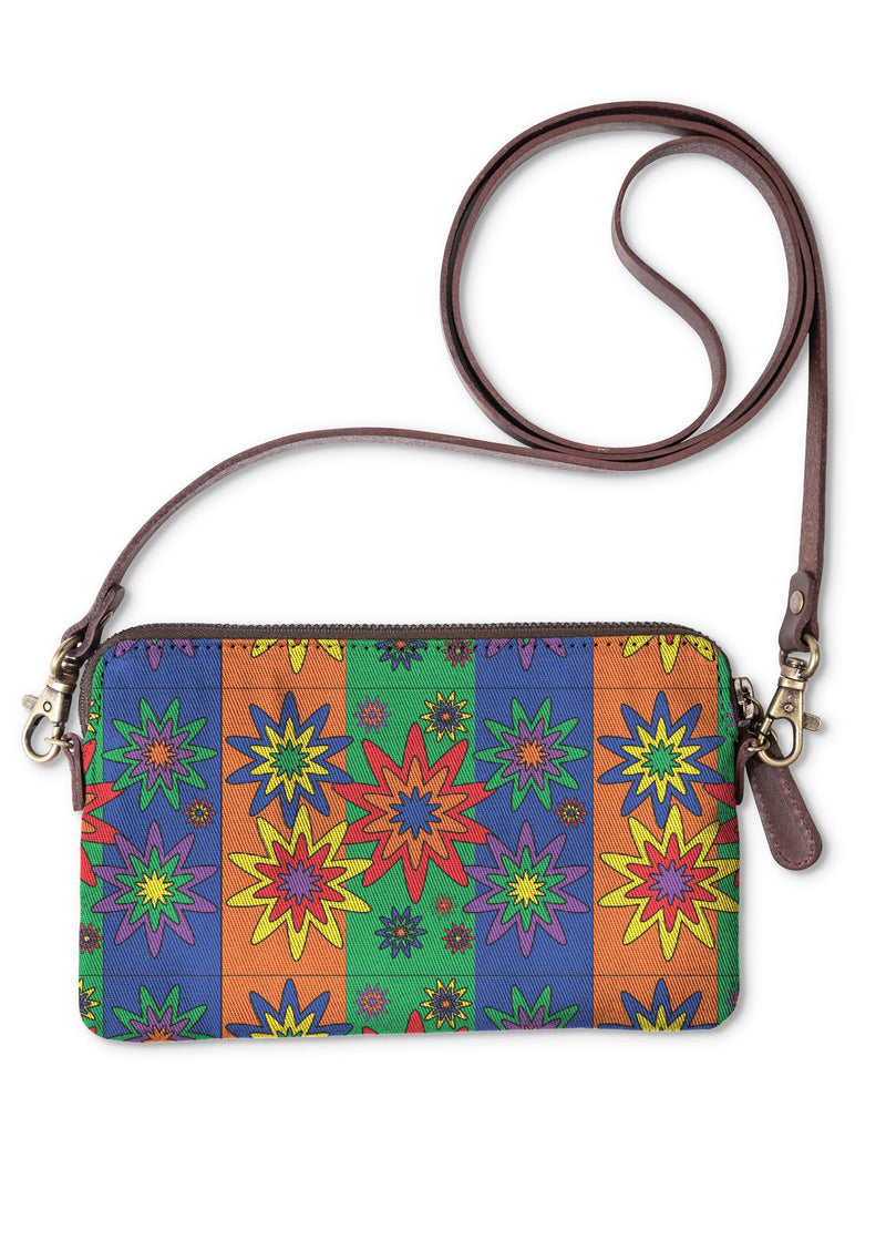 Blooming Happy - Vibrant © Clutch Bag