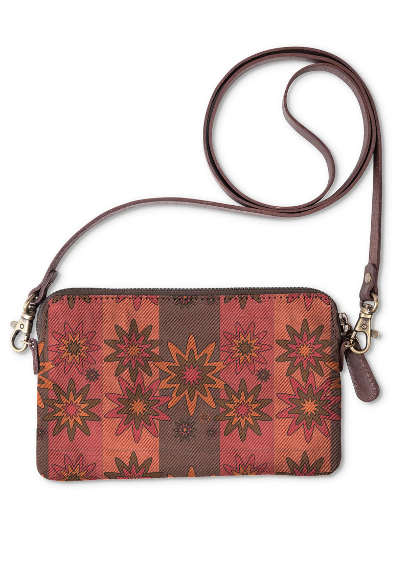 Blooming Happy - Warm © Clutch Bag