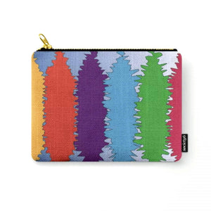 Currents © Zippered Pouch