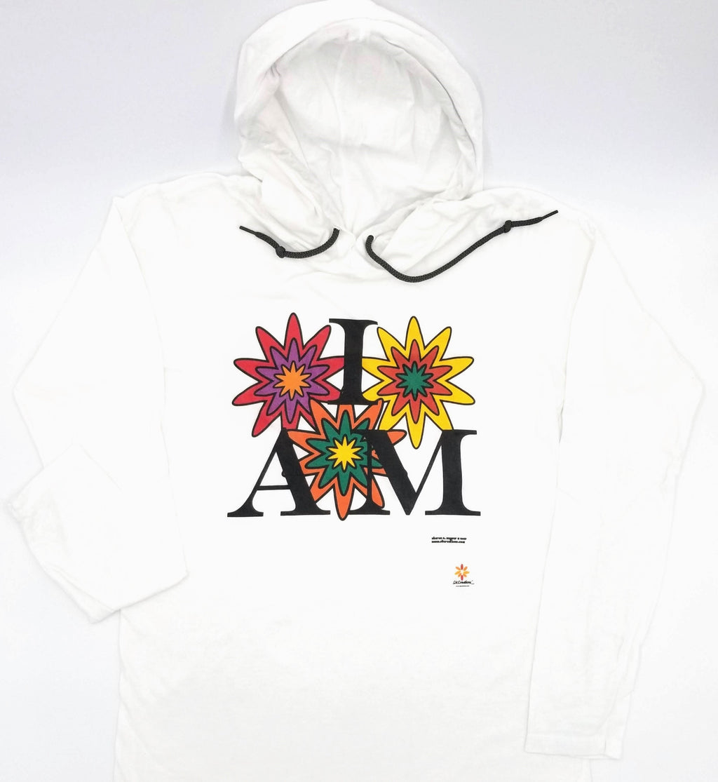 """I AM in Bloom"" © Long Sleeve Hoodie"