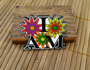 """I AM"" in Bloom © Lapel Pin"