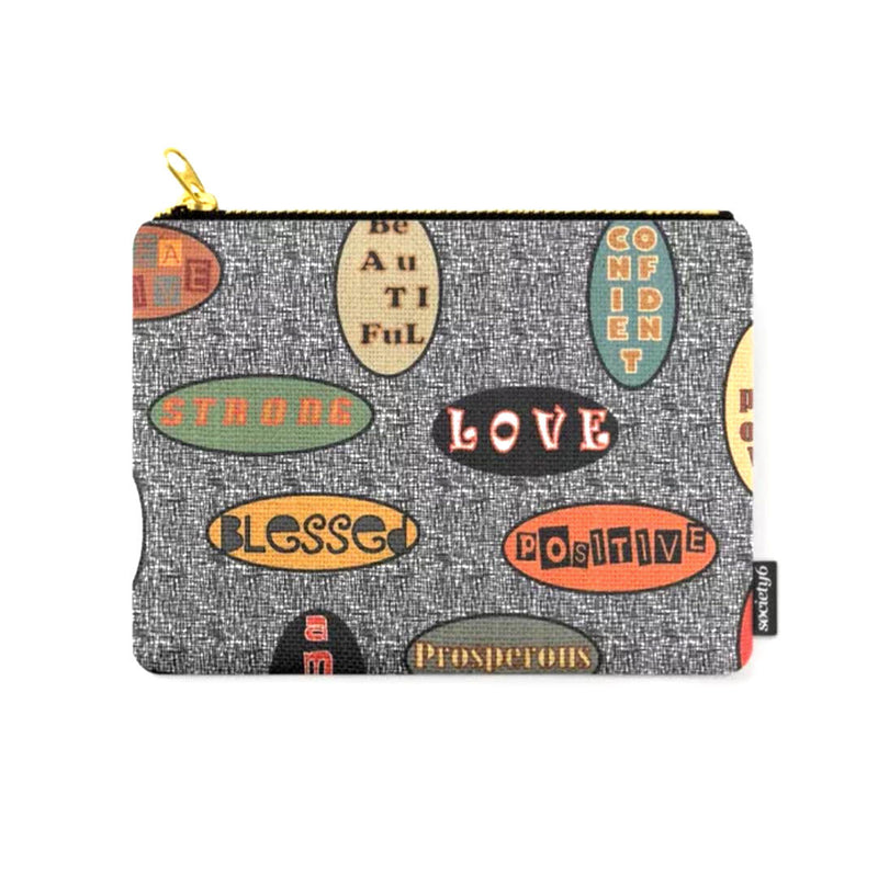 "'I AM"" 2 © Zippered Pouch"