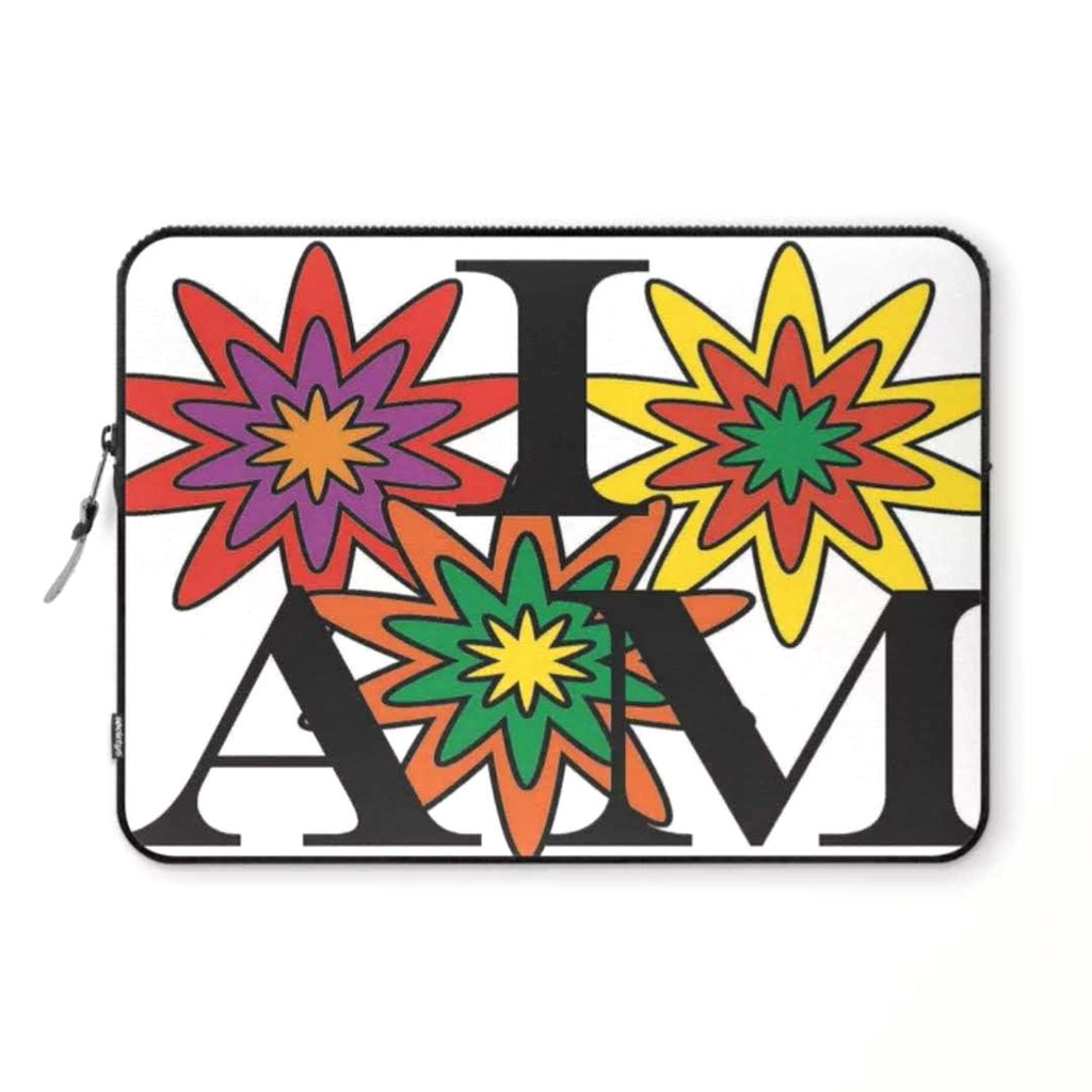 """I AM in Bloom"" © Laptop Sleeve"