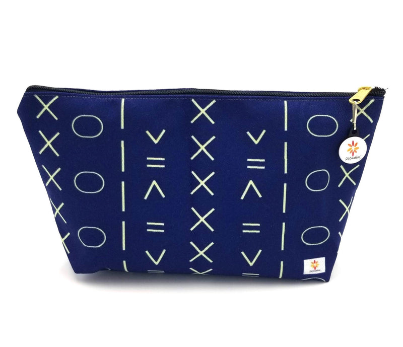 Indigo Pattern 1 © T-Bottom Accessory Pouches