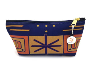 Indigo Pattern 2 © T-Bottom Accessory Pouches