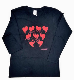 Madly... Deeply... Black © Long Sleeve T-Shirt