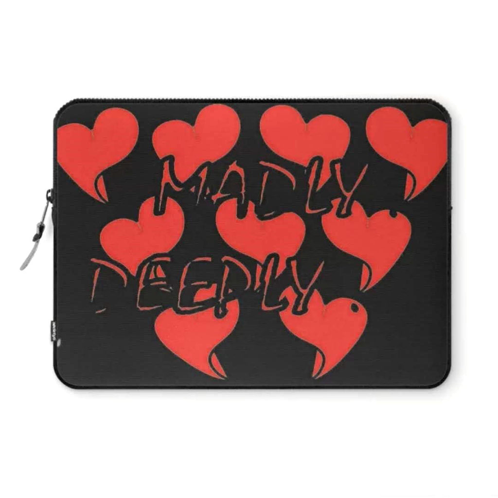 Madly... Deeply... Black © Laptop Sleeve