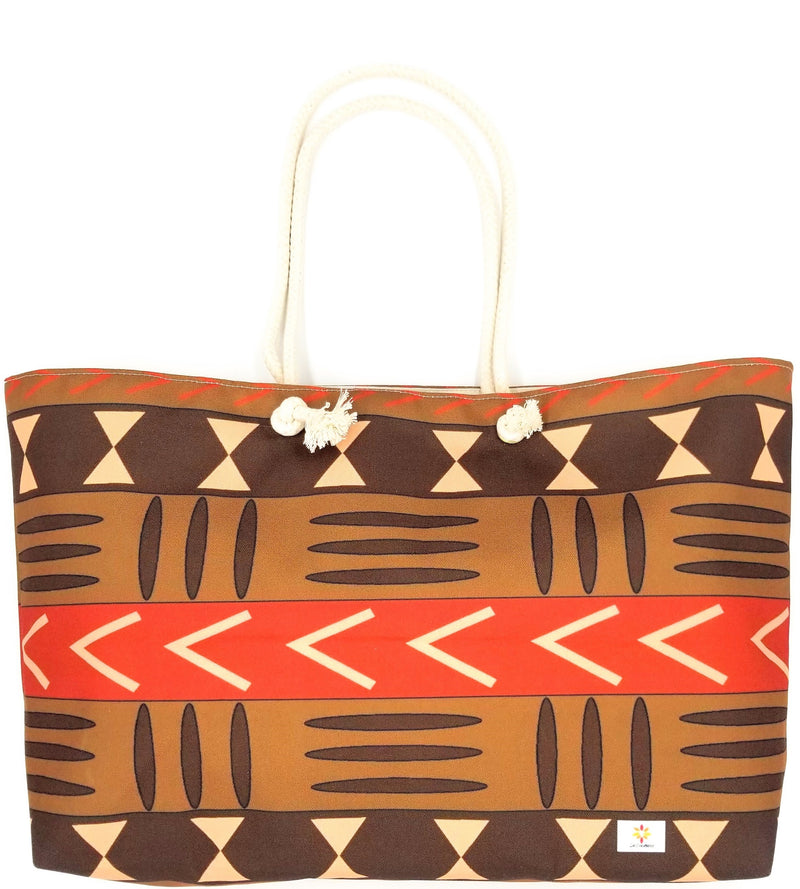 Mud Cloth Pattern 1 © Weekender Tote Bag