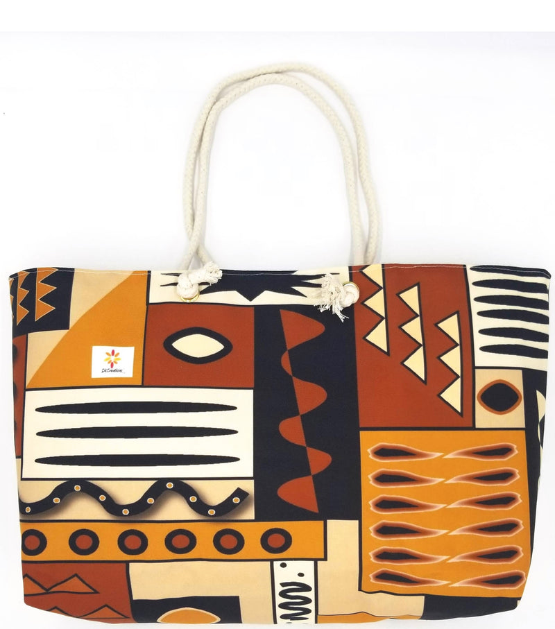 Mud Cloth Pattern 4 © Weekender Tote Bag