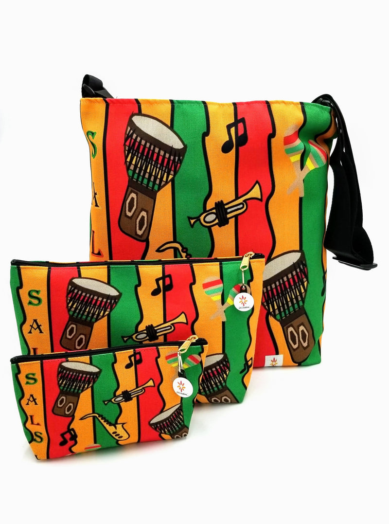 Salsa Jam © Crossbody Bag and Pouches Set