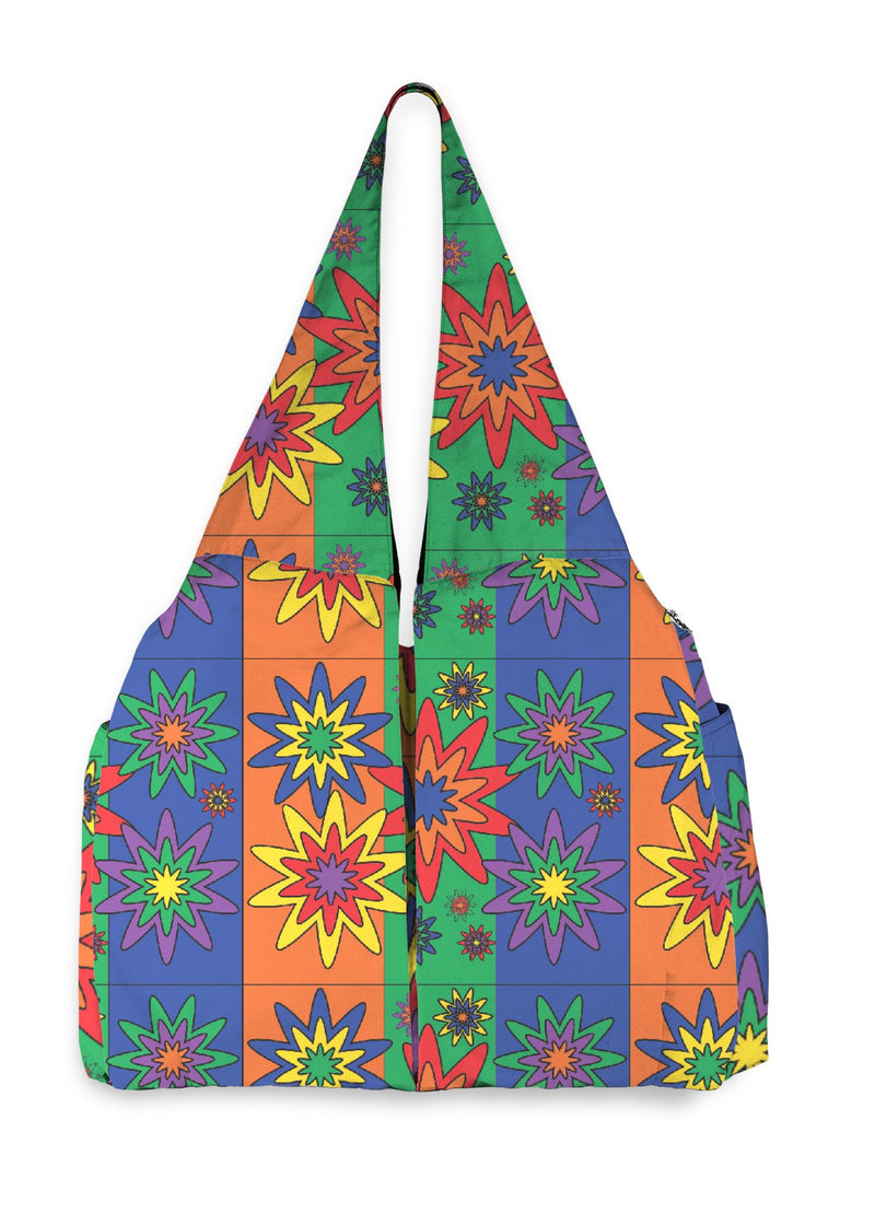 Blooming Happy - Vibrant © Slay Market Bag