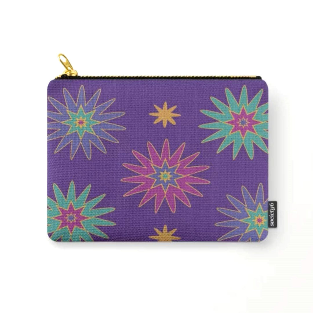 Sparks 2 © Zippered Pouch