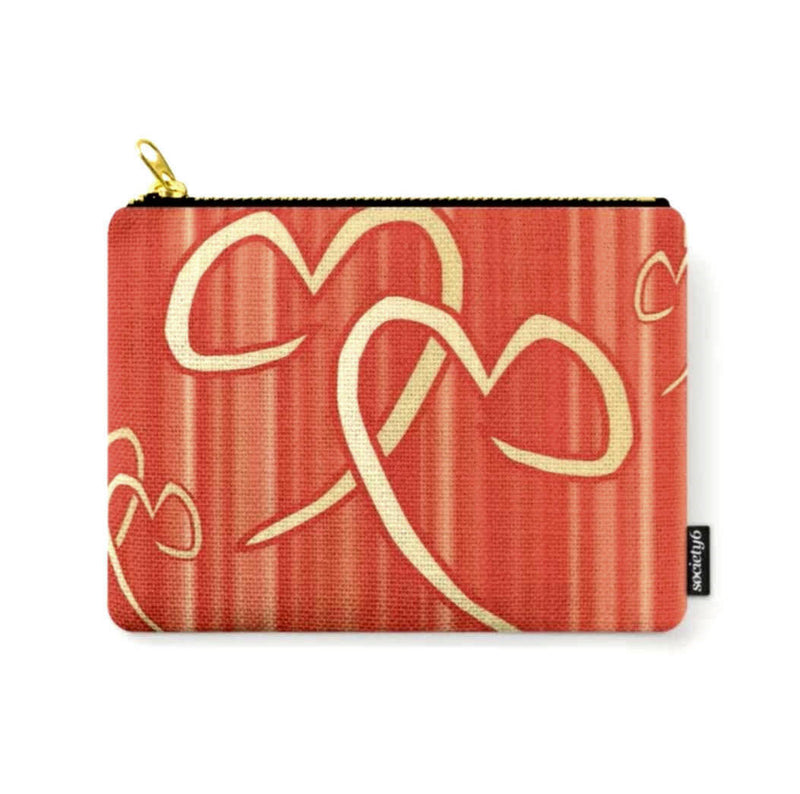 Twin Flames © Zippered Pouch