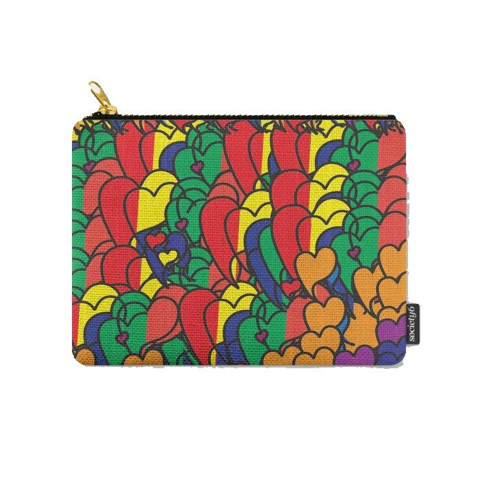 We're All In This Together © Zippered Pouch