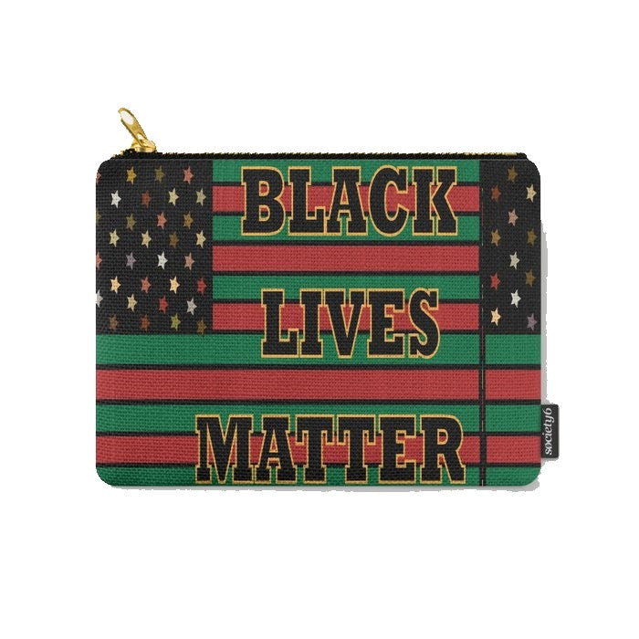 Black Lives Matter © Zippered Pouch