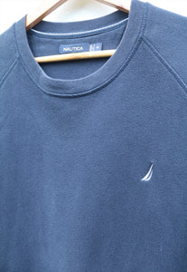 Nautica USA 90s Navy Blue Sweatshirt