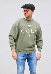 GS Sports Vintage USA Golf Sweatshirt